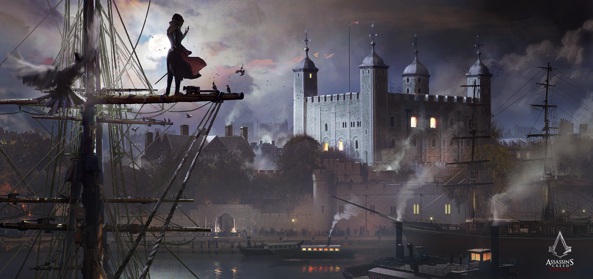 Assassin S Creed Syndicate Concept Art Art Of Zhou Shuo